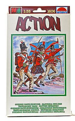 ESCI ERTL #1606 1815 British & Highlanders - 14 figures  - 1/35th scale mint box