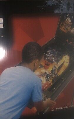 NEW Star Wars The Force Awakens Free Standing 2 In 1 Pinball Game