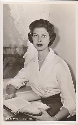 RPPC,Royalty,Sweden,Princess Desiree,Sister of King Carl XVI,c.1950s