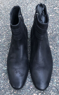 Pete Sorensen Mac Gill Greased Black Leather Size 42 EU