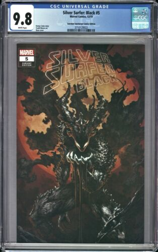 SILVER SURFER BLACK #5 CGC 9.8 Skan VARIANT Void Knight  IN HAND & READY TO SHIP