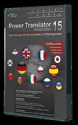 Power Translator 15 World Edition 13 Sprachen PowerTranslator + DriverGenius 12 online kaufen