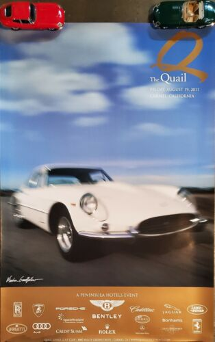"""2011 The Quail A Motorsports Gathering Event Poster 36"""" x 24"""""""