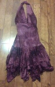 Mariposa purple sparkly xsmall dress