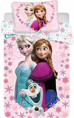 Eiskönigin Frozen Anna & Elsa Baby Bettwäsche  40 x 60 cm + 100 x 135 cm