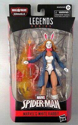 Marvel Legends Series White Rabbit 6-inch Demogoblin BAF MISB