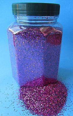 """Glitter Glitterstaub Farben Pink pro Dose Inhalt 350g Hohe Qualität""""19403"""