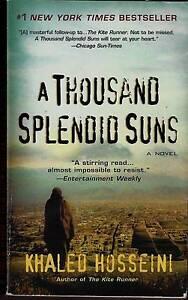 A Thousand Splendid Suns by Khaled Hosseini (Paperback / softback South West Rocks Kempsey Area Preview