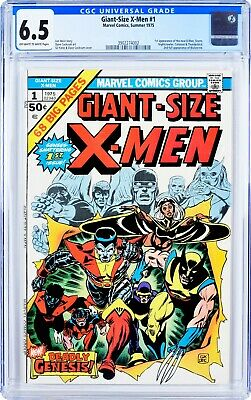 Giant Size X-Men #1 GCG 6.5 1975 First Appearance New X-Men! Classic Key Book!