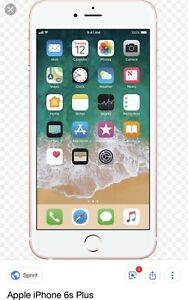 Gold iPhone 6s Plus (32gb)