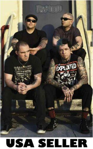 Rancid sitting on steps POSTER 23.5 x 34 punk rock ska group