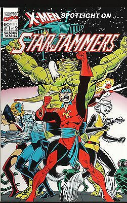 X-Men Spotlight on... StarJammers No.1-2 / 1990 Dave Cockrum
