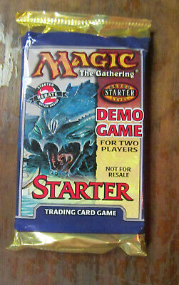 MTG Magic The Gathering Demo Game Starter Pack Rare Sealed FOR 2 PLAYERS! 1999