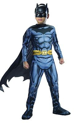 Rubies Dc Comics Batman Foto Echt Dunkler Ritter Jungen Halloween Kostüm 881297