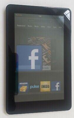Amazon Kindle Fire 7 Wi-Fi Tablet X43Z60 16GB, Black (2nd Generation)