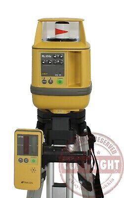 Topcon Rl-vhb Self-leveling Rotary Laser Levelspectra Precisiondewalthilti
