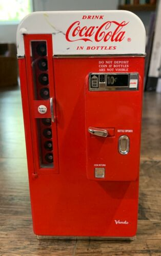 1994 Coca-Cola bank vending machine replica Its the Real Thing Die Cast #53509
