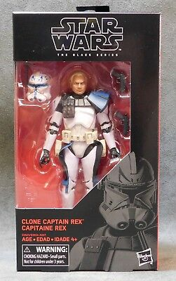 "Star Wars Black Series Clone Captain Rex 6"" Action Figure - The Clone Wars"