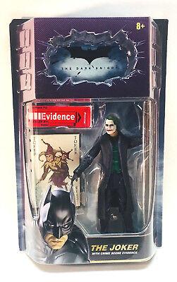 Batman: The Dark Knight The Joker Movie Masters Figure DC Mattel 2008 NIP New