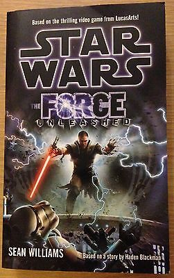 THE FORCE UNLEASHED Sean Williams Book (STAR WARS) Paperback NEW