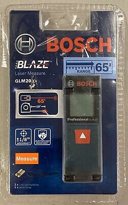 Bosch Blaze Laser Measure Glm20x