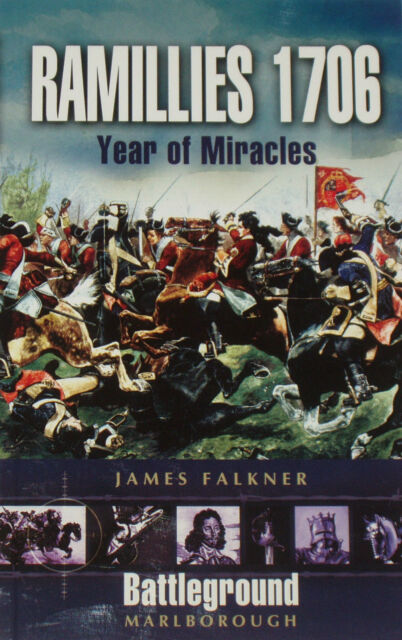 RAMILLIES BATTLE 1706 - Military History Malborough NEW War Campaign Falkner