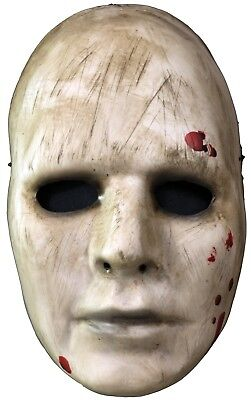 Thug Halloween Costume (ADULT MANIAC CREEPY THUG FACE WITH BLOOD VACUFORM MASK COSTUME ACCESSORY)