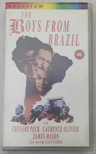 "(PRL) VIDEOCASSETTA VHS CASSETTE THE BOYS FROM BRAZIL GREGORY PECK MASON - Parma, PR, Italia - --------------- NO RETURN PRIVILEGE WITH THIS ITEM SOLD ""AS IT IS"", ACCEPTED LIKE PIC AND DESCRIPTION PLEASE CHECK ALL CONDITION OF AUCTION Please feel free to email me or phone me, if you have any queries. I accept all major credi - Parma, PR, Italia"