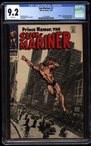 Sub-Mariner #7   CGC 9.2   classic photo cover