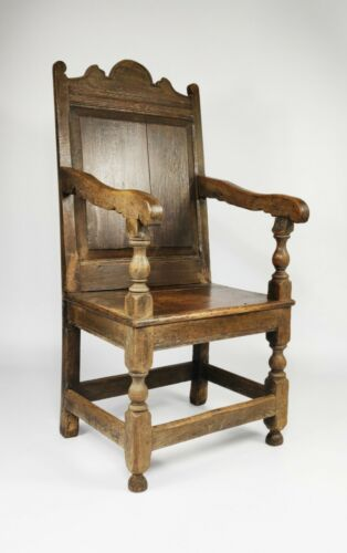 A 17th Century English Wainscot Chair.