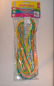 NEW SCOOBIES SCOOBY STRING - PACK OF 50! - SKOOBIES GLITTER PEARL MULTI ORIGINAL