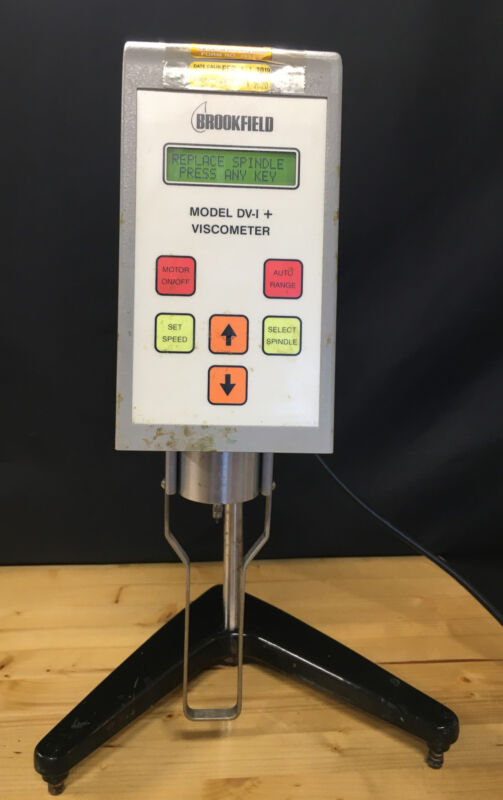Brookfield  RVDVI+ Viscometer