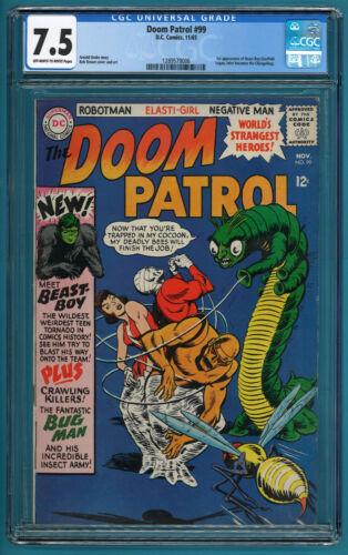 Doom Patrol #99 CGC 7.5  1st appearance of Beast Boy