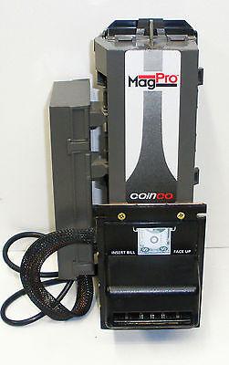 Coinco Mag50b Pro Dollar Bill Acceptorvalidator Mdbpulse Ba30b Used Nb
