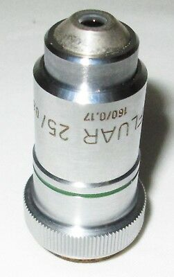 Carl Zeiss Neofluar 25 25x 060 160017 Microscope Objective - Good Optics