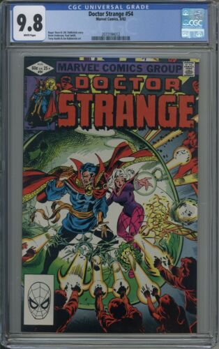 Doctor Strange # 54 CGC 9.8 WHITE PAGES