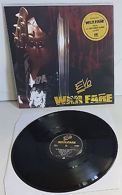 Evo Warfare Black Vinyl Lp Record New Lips From Anvil   Fast Eddie Clarke