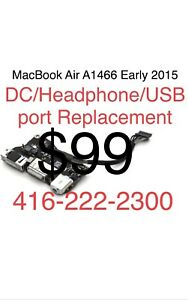 Apple MacBook Air A1466 DC/Headphone/USB Port Repair