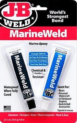 J-b Weld Marineweld 2 Part Marine Epoxy Waterproof Adhesive Glue Jb J B 8272