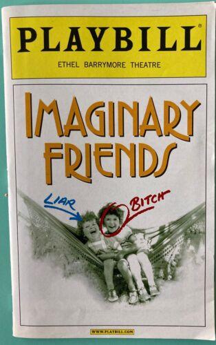 Playbill Imaginary Friends Swoosie Kurtz Cherry Jones  Marvin Hamlisch  Broadway