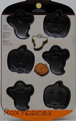 Halloween Wilton Ghost and Pumpkin Mini Cake Baking Pan NWT - Wilton Halloween Mini Cake Pan