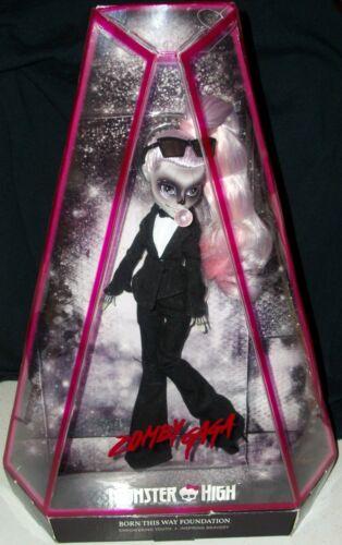 Lady Gaga Monster High Zombie doll Born This Way Gay Halloween goth Xmas gift