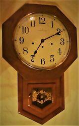 Hamilton Headmaster Wall Clock - Westminster Chimes