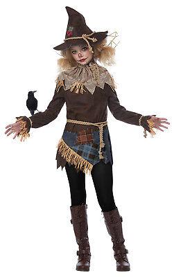 Creepy Scarecrow Farmer Child Costume - Kids Scarecrow Costumes