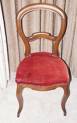 Louis Philippe Stuhl (Stuhl, antik, Louis Philippe / Biedermeier, 1830-1850)