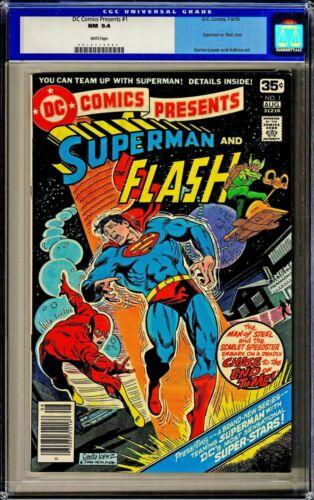 DC Presents Superman & Flash #1 CGC 9.4