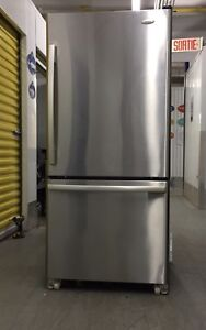 New kitchen aid fridge in stainless- delivery possible