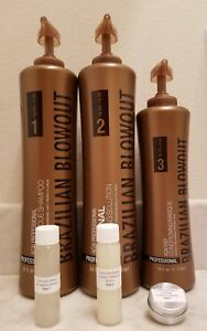 Brazilian Blowout Professional Hair Smoothing Solution - 1 oz Sm Kit (DIY)