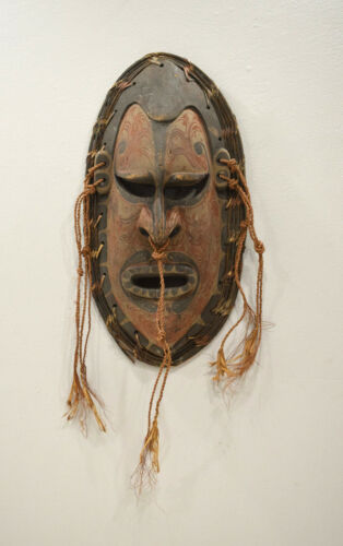 Papua New Guinea Mask Tambanum Big Mouth Spirit Mask East Sepik River