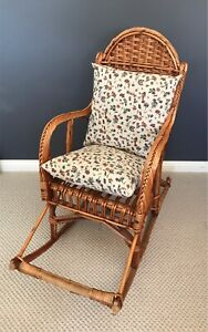 Kids Vintage Rocking Chair with Pillows Bella Vista The Hills District Preview